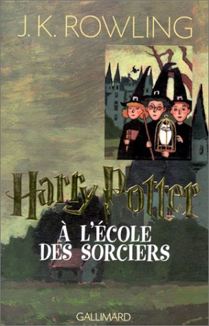 harry potter tome 1 harry potter l 39 cole des sorciers joanne kathleen. Black Bedroom Furniture Sets. Home Design Ideas