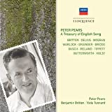Peter Pears - A Treasury of English Song