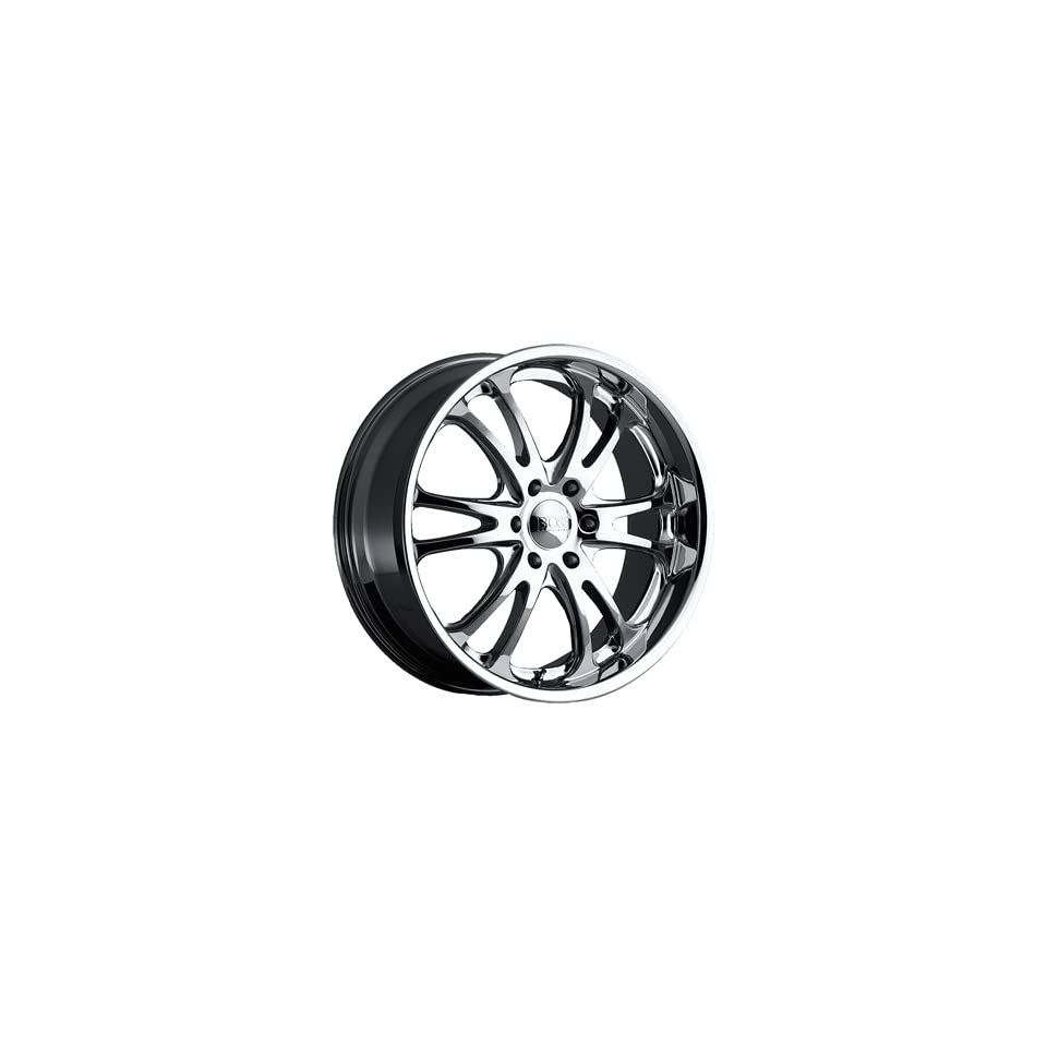 Boss 313 24x10 Chrome Wheel / Rim 6x5 with a 40mm Offset and a 94.62 Hub Bore. Partnumber 31364073