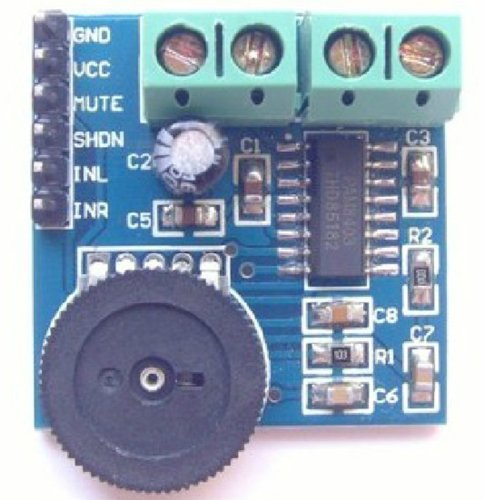 XINTE Double Channel Amplifier Module PAM8403 Mini Digital Amplifier Board with Volume Control