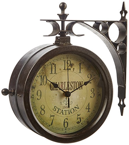 Two Sided Outdoor Clock
