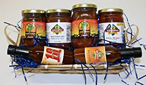 All Natural Salsa Sw Sauces Hot Basket from Arizona Spice Company LLC