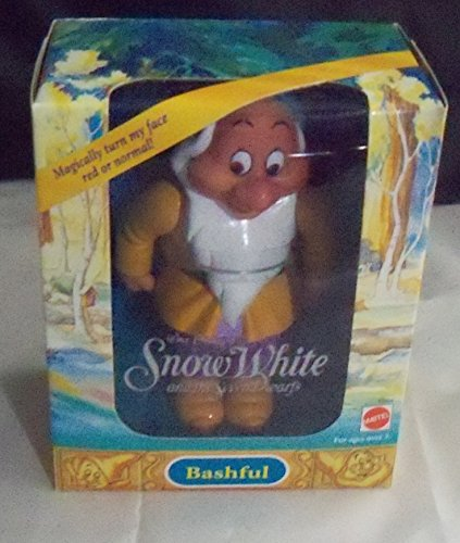 Snow White and the Seven Dwarfs Color Changing Doll BASHFUL