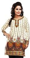 Women's Indian Kurti Top (Tunic) Prin…