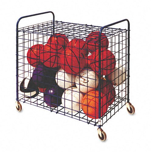 Champion Sports : Portable Lockable Ball Storage Hopper Cart, 24-Ball Capacity, Black -:- Sold as 2 Packs of - 1 - / - Total of 2 Each брюки