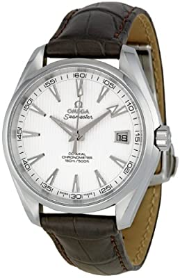 Omega Men's 231.13.42.21.02.001 Aqua Terra Silver Dial Watch