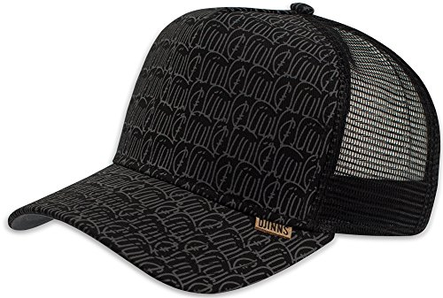 Djinns HFT New Allover 2015 2.0 Black Snapback Cap Kappe Herren One Size Mens