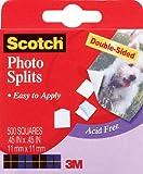 Scotch Photo Splits (500 squares per Pack)