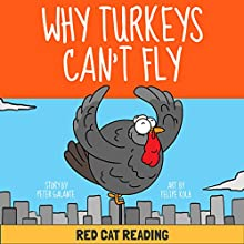 A Thanksgiving Turkey Tale: Why Turkeys Can't Fly Audiobook by  Red Cat Reading Narrated by  Red Cat Reading