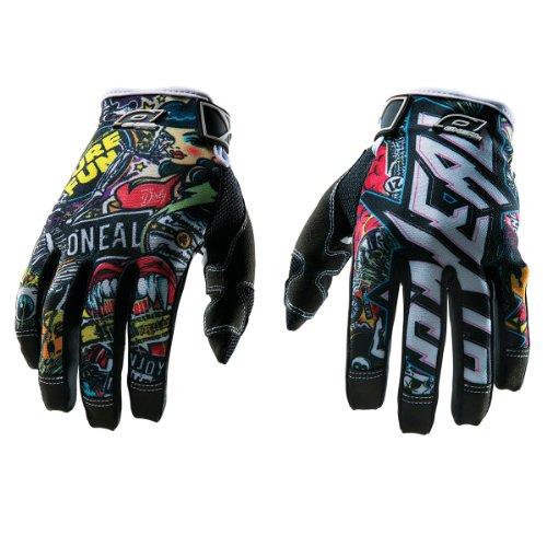 ONeal 2015 saltar merodeador negro multi niños MTB guantes Negro negro Talla:small