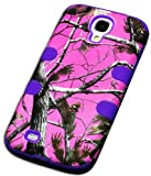 "myLife (TM) Purple - Pink Tree Camouflage Design (3 Piece Hybrid) Hard and Soft Case for the Samsung Galaxy S4 ""Fits Models: I9500, I9505, SPH-L720, Galaxy S IV, SGH-I337, SCH-I545, SGH-M919, SCH-R970 and Galaxy S4 LTE-A Touch Phone"" (Fitted Front and Back Solid Cover Case + Internal Silicone Gel Rubberized Tough Armor Skin + Lifetime Warranty + Sealed Inside myLife Authorized Packaging) at Amazon.com"