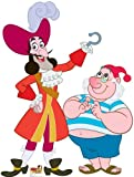 Captain Hook & Mr. Smee / Disney Jake & Neverland Pirates (66 x 50) Graphic Stand Up