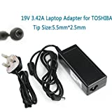 BEIYI A2033 Replacement Laptop Adapter 19V 3.42A For Toshiba Satellite L300 TOSHIBA A200 SATELLITE V85 N193 L40 L350 L300 Laptop Adaptor Charger + Clover Lead