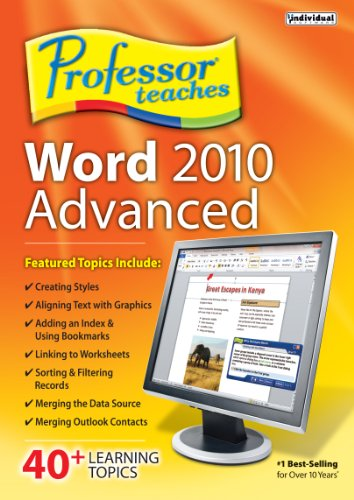 Professor Teaches Word 2010 Advanced [Download]