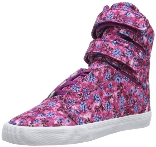 Supra Women's Society II – Orchid Floral / White, 8 B US