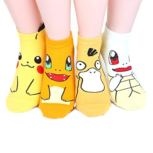 pokemon-womens-ankle-socks-4pairs4color1pack-made-in-korea