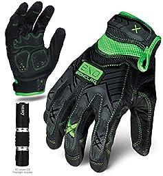 Ironclad EXO-MIG-06-XXL Motor Impact Gloves, XX-Large