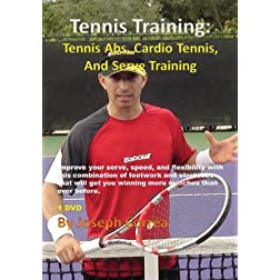 Tennis Training: Tennis Abs, Cardio Tennis, and Serve Training