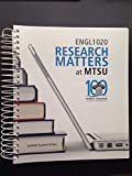img - for Research Matters at MTSU English 1020 book / textbook / text book