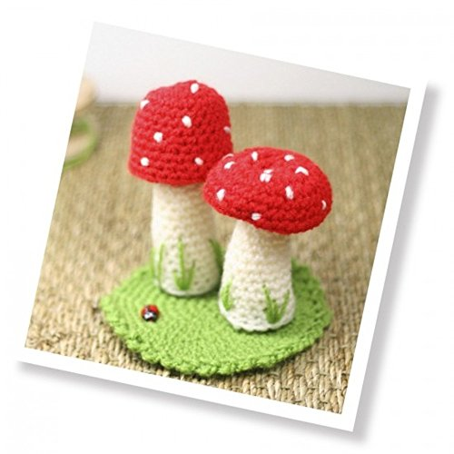Toadstools Crochet Kit