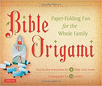 Bible Origami Kit: Paper-Folding Fun for the Whole Family! [Origami Kit with Book, 72 Papers, 6 Backgrounds, and 72 Models]