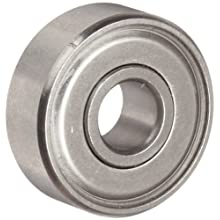 Dynaroll R-Series Ball Bearing, Double Shielded, 52100 Chrome Steel