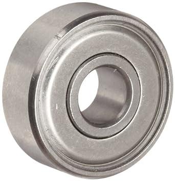 Dynaroll R-Series Ball Bearing, Double Shielded, 52100 Chrome Steel