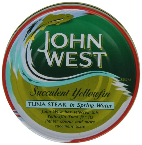 John West Yellowfin Tuna In Spring Water 160 g (Pack of 4)