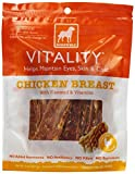 Dogswell Vitality for Dogs, Chicken Breast, Flaxseed & Vitamins, 5-Ounce Pouches (Pack of 6)