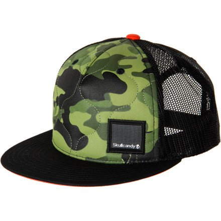 Skullcandy Camo Trucker Hat Camo, One Size