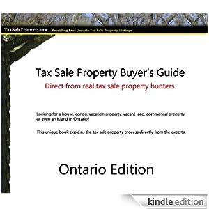 Tax Sale Property - Ontario Tax Sales EBook