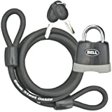 Bell Key 'N Go Steel Cable Padlock for Bike ~ Bell