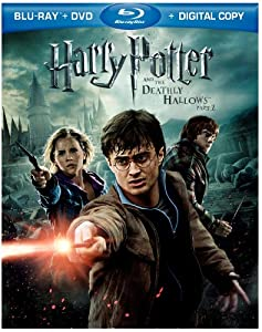 Cover Image for 'Harry Potter and the Deathly Hallows, Part 2 (4 Disc Blu-ray + DVD + Digital Copy +3D)'