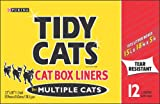 Tidy Cats Box Liners for Multiple Cats, 12-Count Liners (Pack of 6)