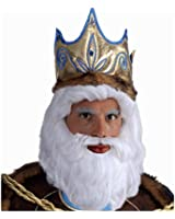 King Neptune Wig & Beard Set