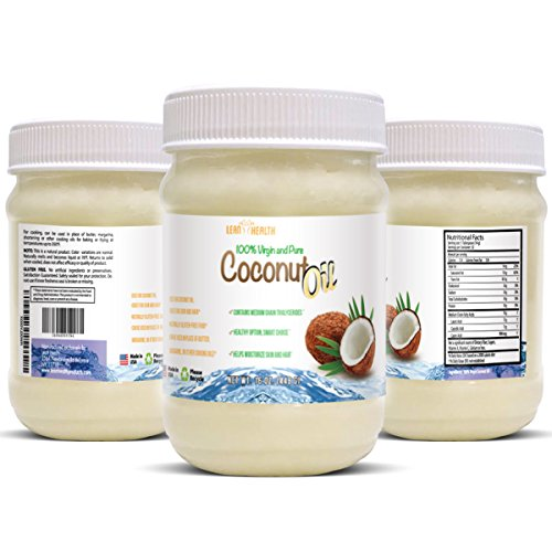 Coconut Oil - Pure Extra Virgin and Raw - Irresistible Taste and Aroma - Cold Press Satisfaction Guarantee