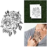 Rose Temporary Tattoo (Set of 2)