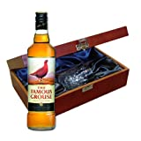 Famous Grouse Whisky In Luxury Box With Royal Scot Glass