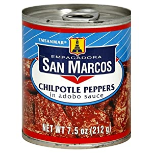 Amazon.com : San Marcos Chipotle Peppers in Adobo sauce 7