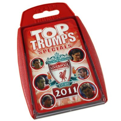 Liverpool FC Top Trumps 2011 – Football Gifts