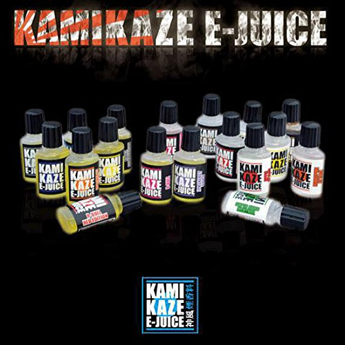 【 国産 リキッド KAMIKAZE E-JUICE / カミカゼ ジュース 】KAMIKAZE E-JUICE / ラムネ