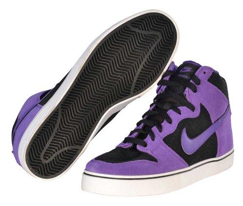 Nike Men'S Sb Dunk High Lr Skate Shoe Sneakers-Black/Purple