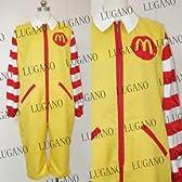 マクドナルド ドナルド コスプレ衣装 完全オーダメイドも対応可能