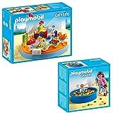 Playmobil City Life Set de 2 partes 5570 Grupo de guarder�a + 5572 Piscina de bolas para beb�s