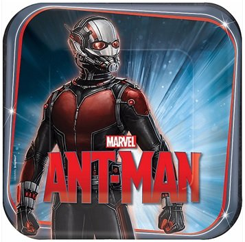Marvel Ant-Man Plate 9 nch 8ct [3 Retail Unit(s) Pack] - 551487