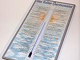 Das Kultur-Thermometer: Eine kurze Temperaturgeschichte in 75 Graden