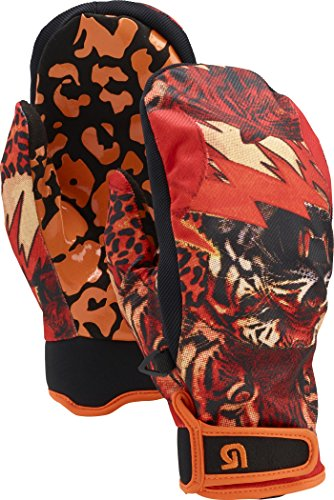 Burton Spectre Mitts Mens Unisex Ski Snowboard Mittens New 2015 (Tight Like A Tiger!, L)