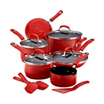 Rachael Ray 12864 13pcc Cookware Set Red