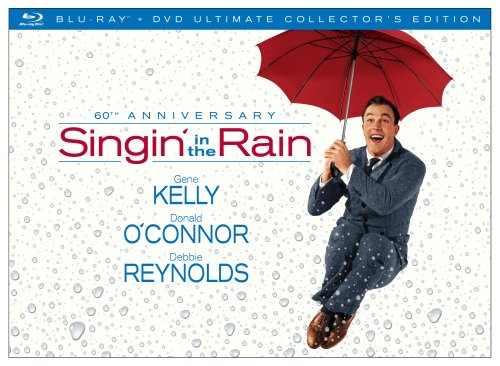 Cover art for  Singin' In The Rain: 60th Anniversary Collector's Edition (Blu-ray/DVD Combo)