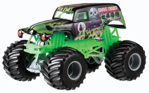 Mattel Hot Wheels Monster Jam 1:24 Grave Digger fundición vehículo